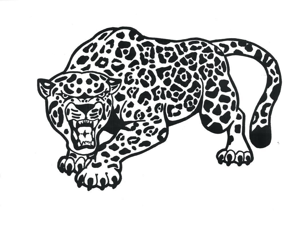 Jaguar Animal Coloring Pages At Getdrawings Free Download