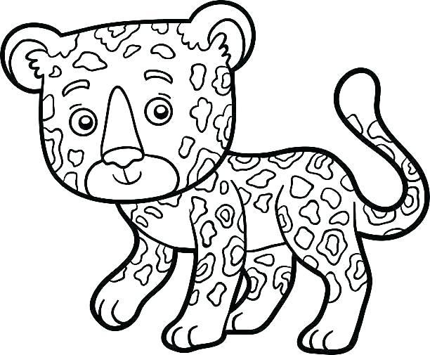jaguar coloring pages 8
