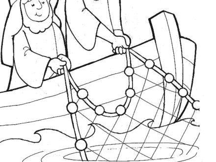 440x330 Paul And Silas Coloring Page, Paul And Silas Survives