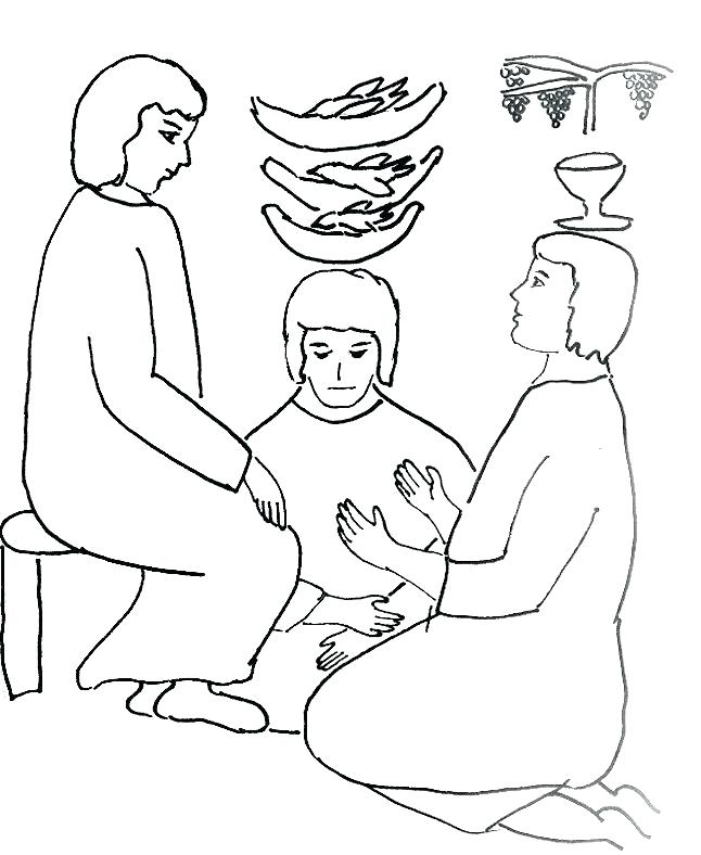 646x788 Joseph Forgives His Brothers Coloring Page
