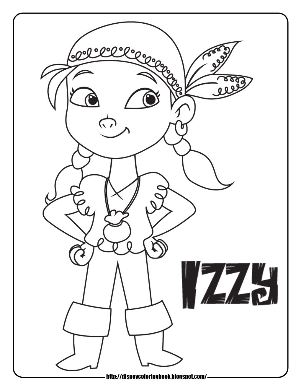 Jake And The Neverland Coloring Pages