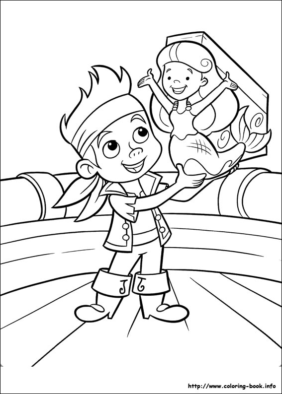 567x794 Jake And The Never Land Pirates Coloring Pages On Coloring