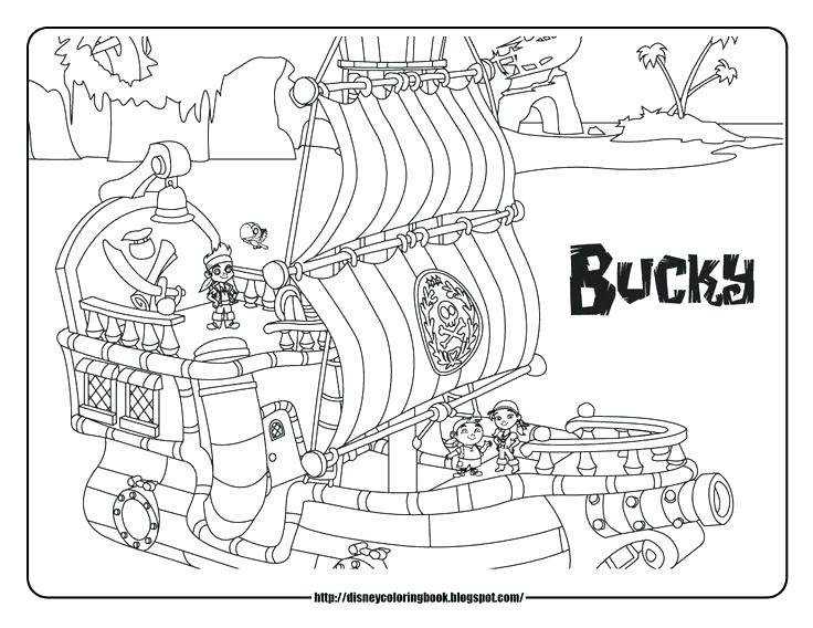 736x568 Jake And The Neverland Pirates Coloring Pages Free Pirate Coloring