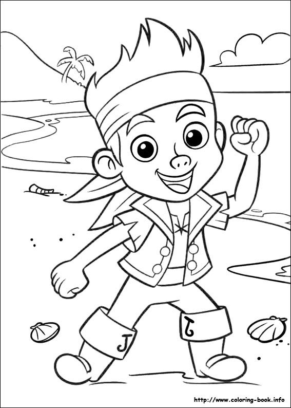 567x794 Jake And The Neverland Pirates Free Printable Coloring Pages Jake