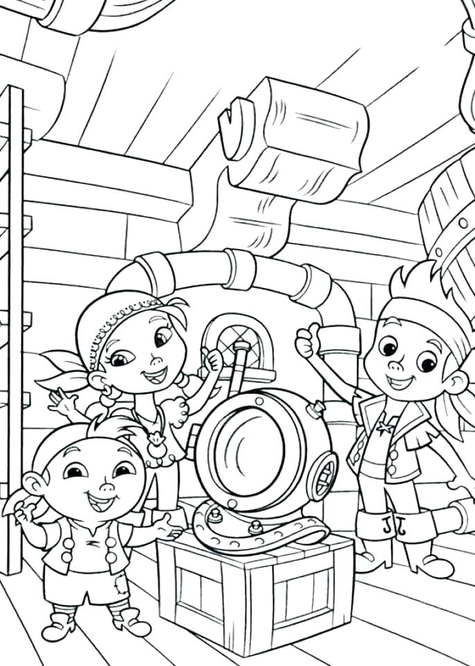 685x960 Jake Neverland Pirates Para Colorear And The Never Land Pirates