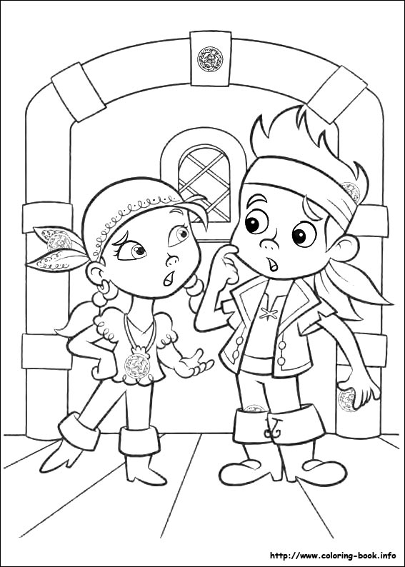 567x794 Jake The Pirate Coloring Pages Printable Coloring Pages