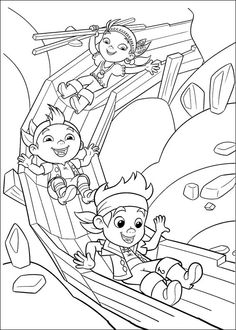 236x330 Jake And The Never Land Pirates Coloring Picture Coloring Pages