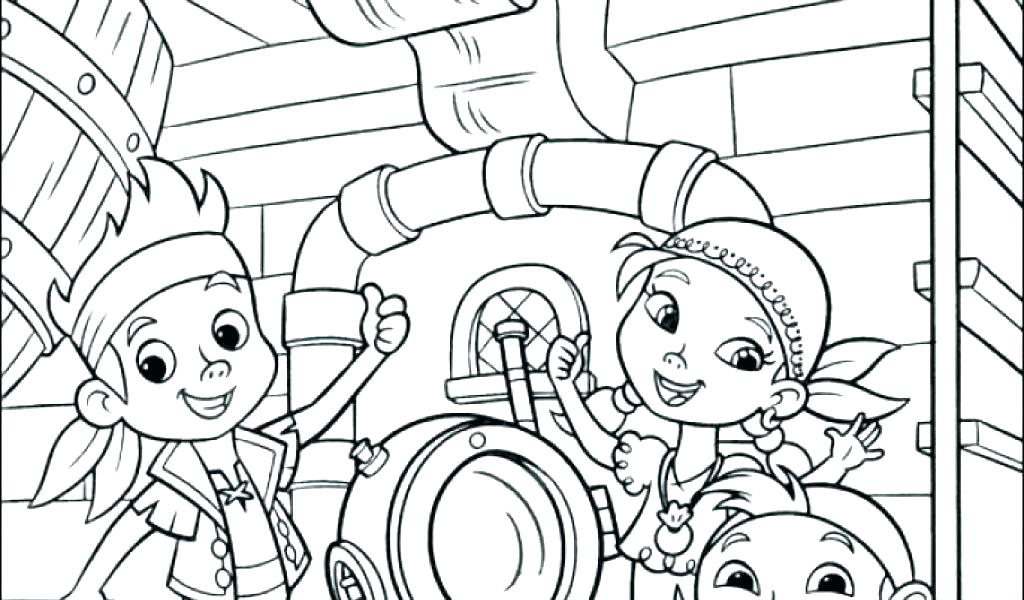 1024x600 And Coloring Pages And Pirates Coloring Jake