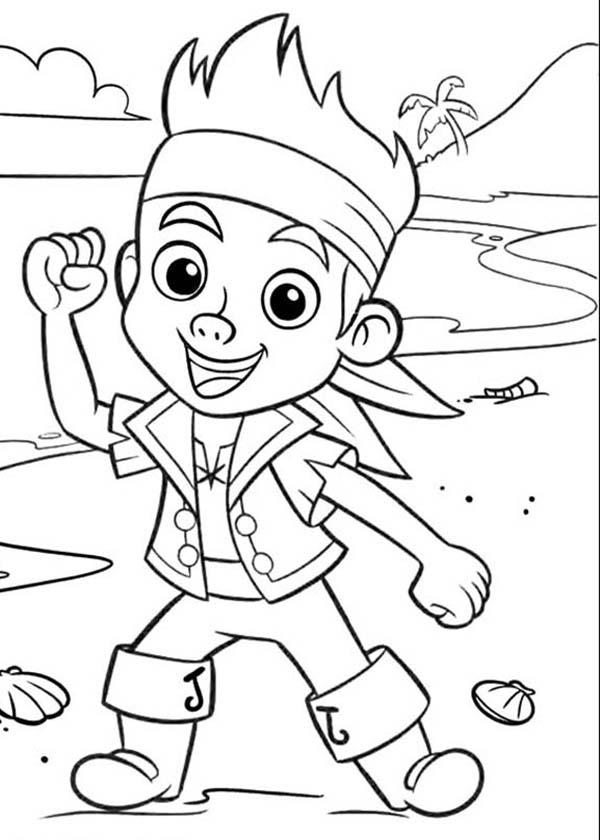 Jake And The Neverland Pirates Coloring Pages At Getdrawings Com