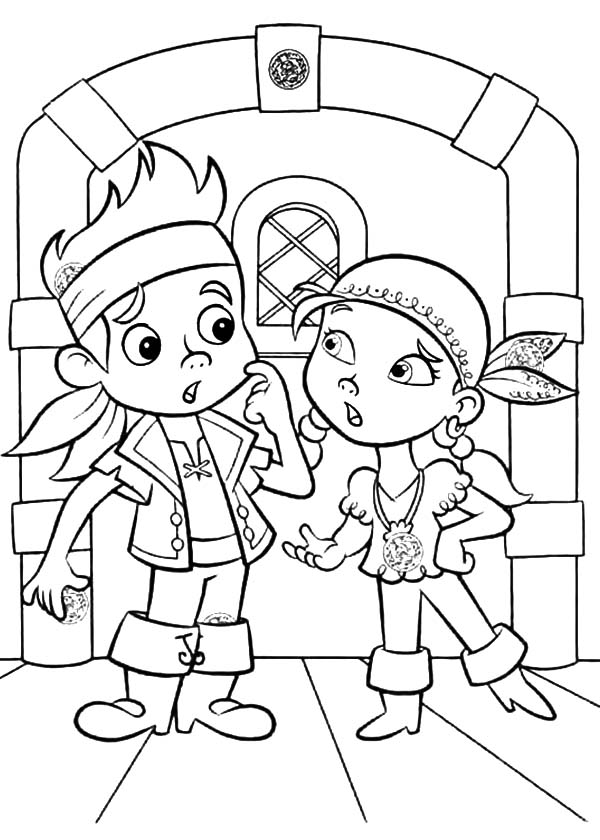 600x840 Jake And The Neverland Pirates Christmas Coloring Pages