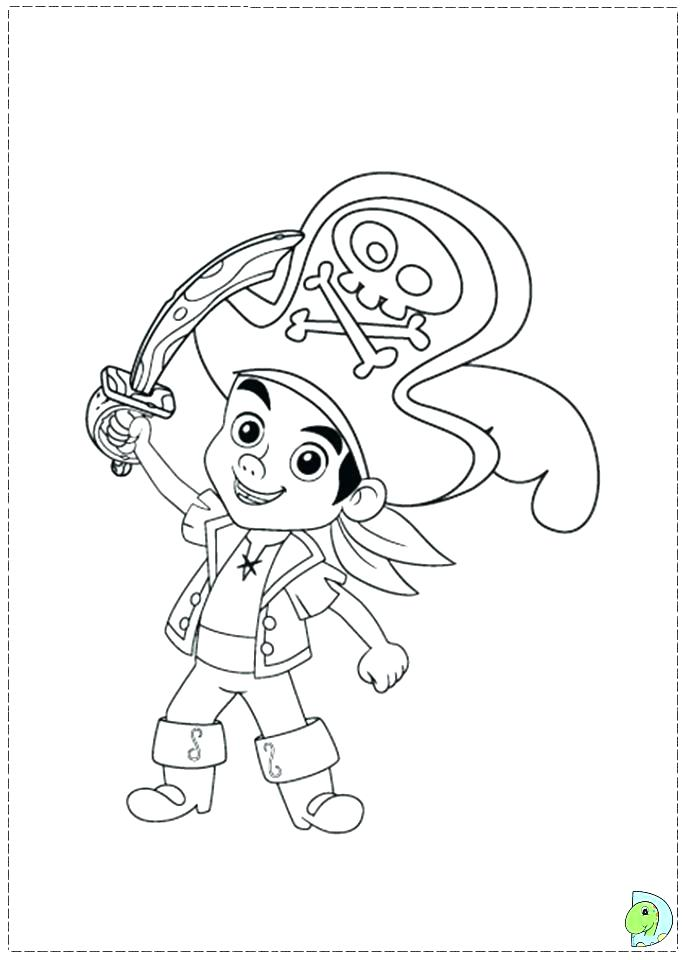 691x960 Jake And The Neverland Pirates Coloring Pages The Pirates Coloring
