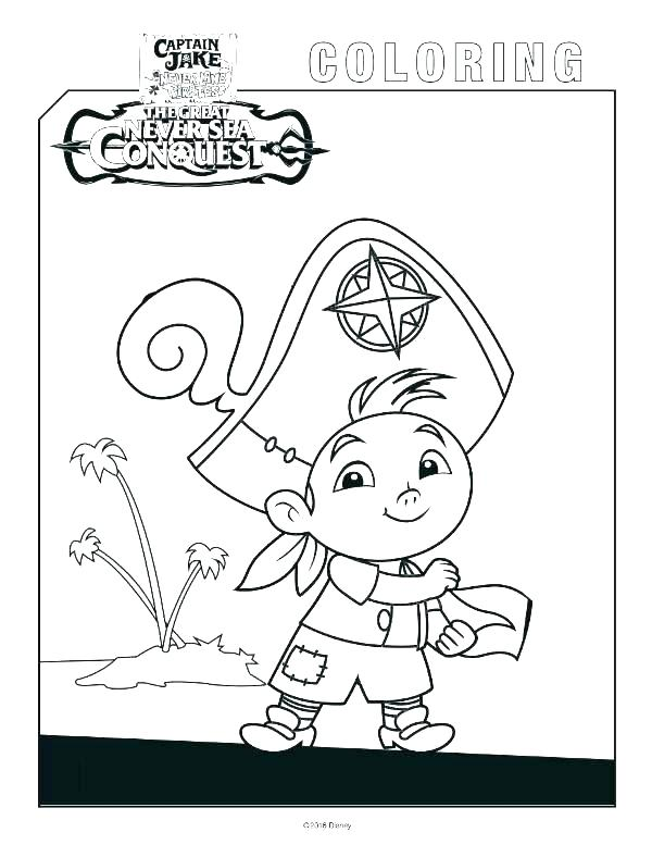 600x777 Jake And The Neverland Pirates Colouring Sheet Pictures Also Never