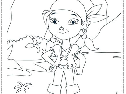 440x330 Disney Jr Jake Neverland Pirates Coloring Pages And The Color