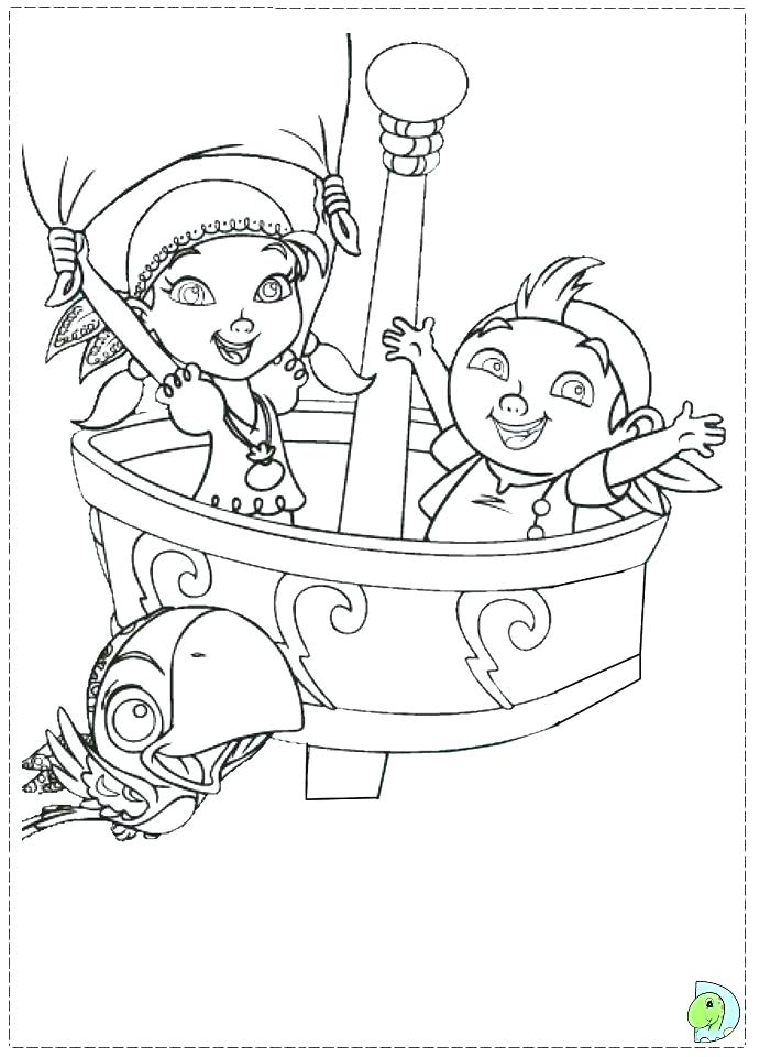 691x960 Disney Jr Jake Neverland Pirates Coloring Pages Jack