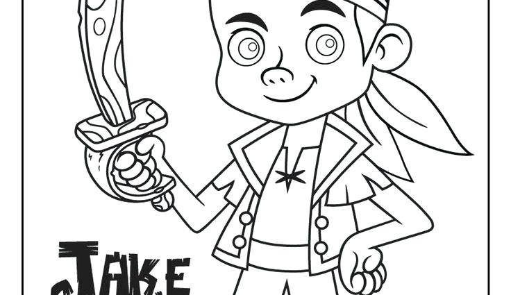 736x425 Jack And The Pirates Coloring Pages Free Printable And Disney Jr