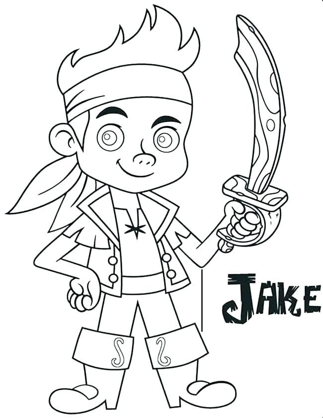 650x841 Jake Coloring Pages Coloring Pages And The Pirates Coloring Pages