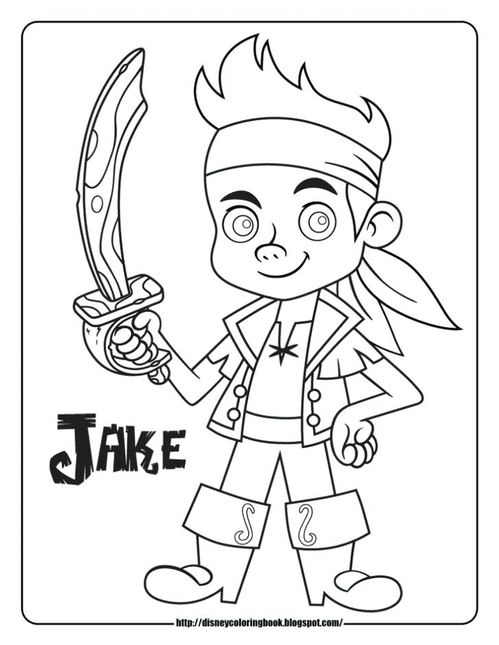 728x942 Jake Pirate Colouring Pages Pirate Coloring Pages