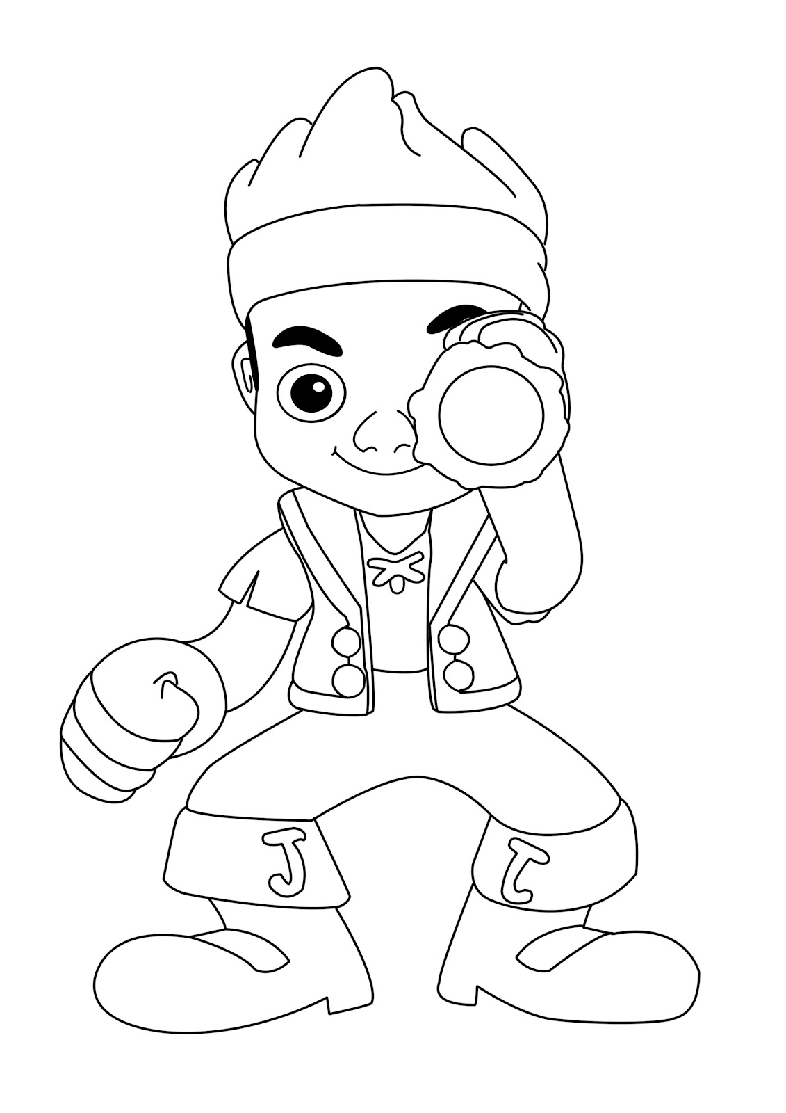 1131x1600 Excellent Jake And The Never Land Pirates Coloring Page From Jake