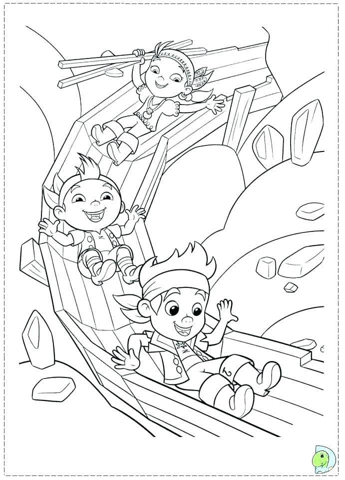 691x960 Coloring Pages Jake And The Neverland Pirates Pirates Coloring