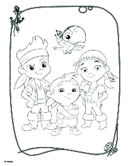 417x540 Jake Coloring Page Gallery Of And The Pirates Coloring Pages