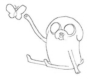 300x250 Jake The Dog Coloring Pages