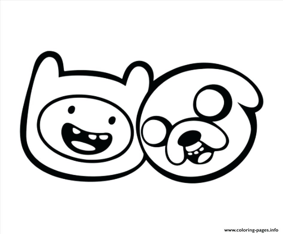 945x781 Adventure Time Coloring Pages Jake And Finn