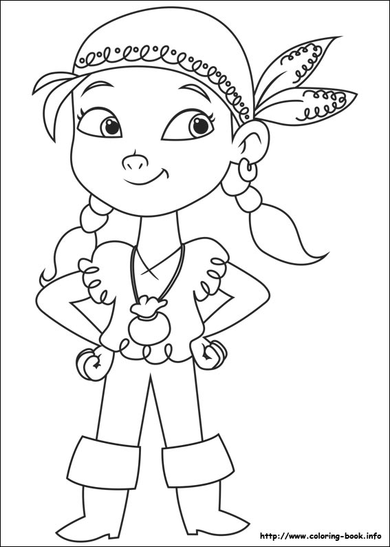 567x794 Pirates Coloring Pages Perfect Jake Neverland Pirates Coloring