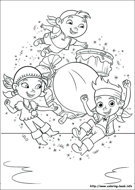 567x794 Jake And Neverland Pirates Coloring Pages To Print