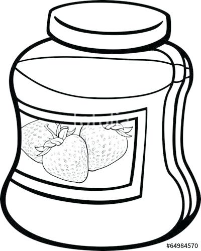 400x500 Jam Coloring Page Jam In Jar Cartoon Coloring Page Space Jam
