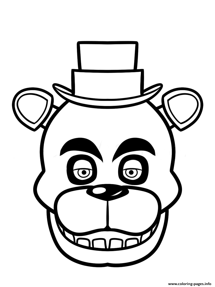 900x1200 Free Printable Five Nights