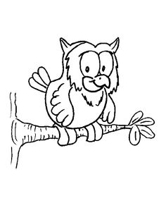 236x295 Happy Owl Coloring Page Audrey Birthdays Owl
