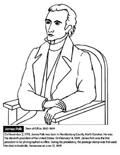236x304 U S President Martin Van Buren Coloring Page Early Education