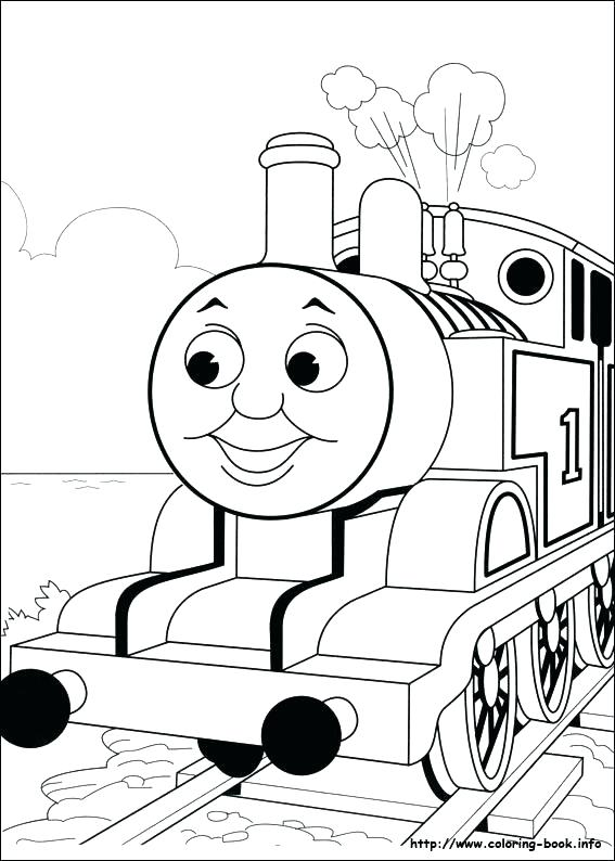 567x794 The Train Coloring Pages Free Trains Coloring The Train Coloring