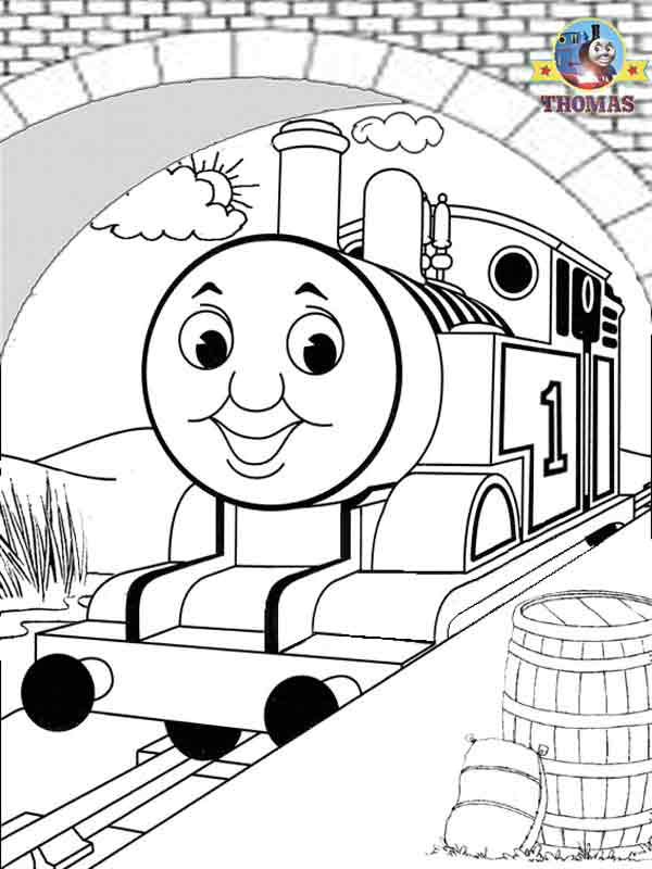 600x800 Thomas And Friends Misty Island Rescue Coloring Pages For Kids