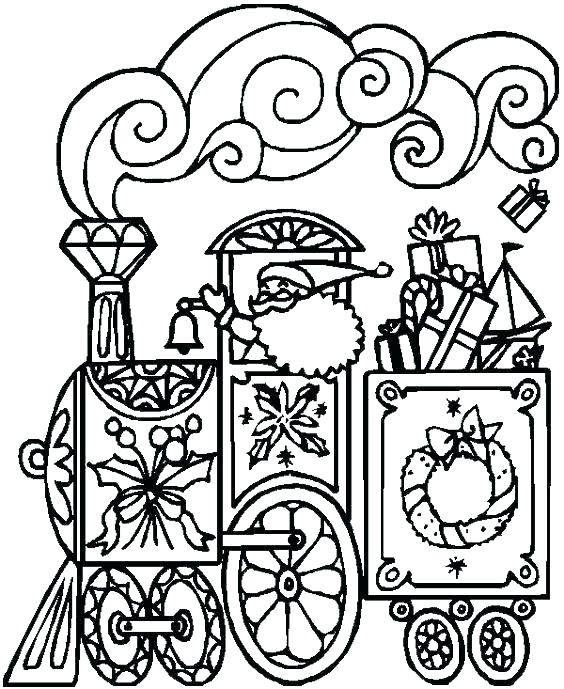 564x689 Thomas The Train Coloring Book With The Train Tunnels Coloring