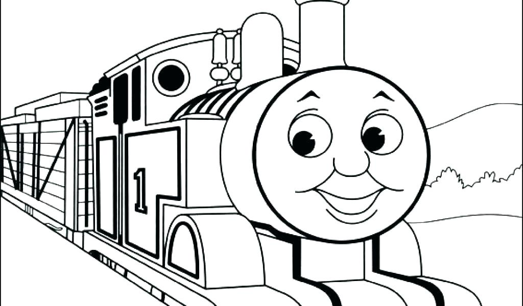1024x600 Thomas The Train Coloring Pages Last Updated May Thomas The Tank