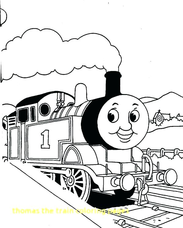 600x749 Thomas Train Coloring Page The Tank Engine Coloring Pages Coloring