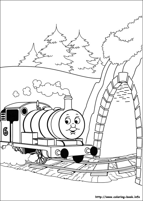 567x794 Thomas And Friends Coloring Pages I Thomas Friends