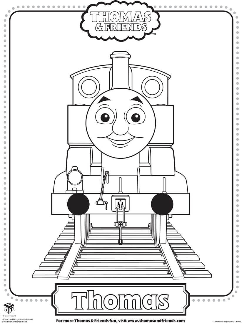 830x1100 Free Printable Thomas The Train Coloring Pages