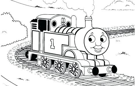 470x300 Thomas The Tank Engine Coloring Pages James Thomas Coloring Pages