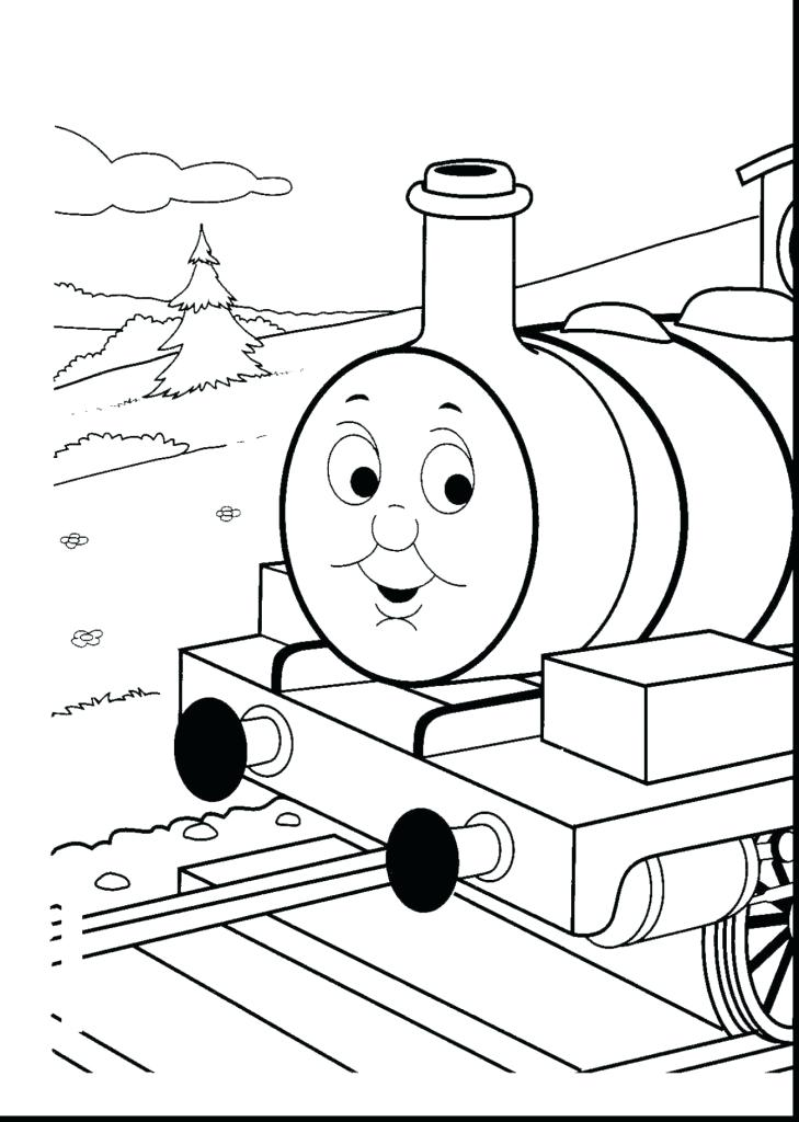 729x1024 Coloring Pages Free The Tank Engine Coloring Book Engine