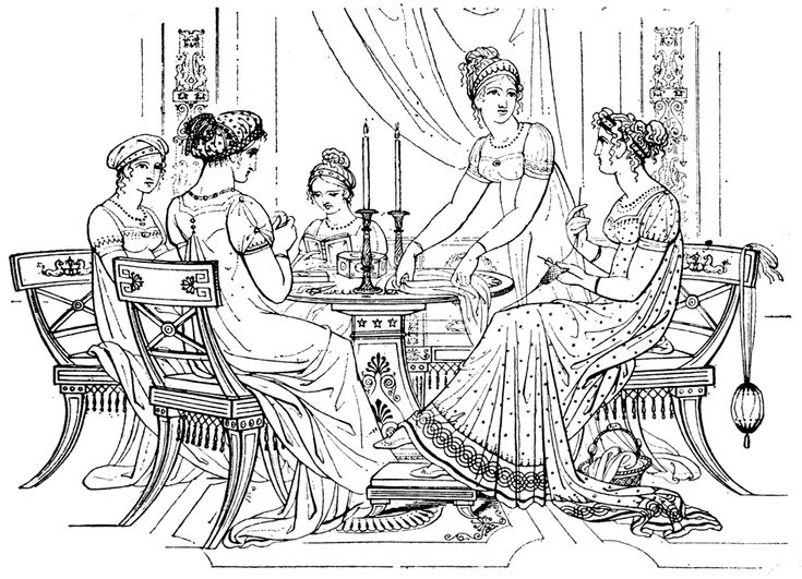 Jane Austen Coloring Pages