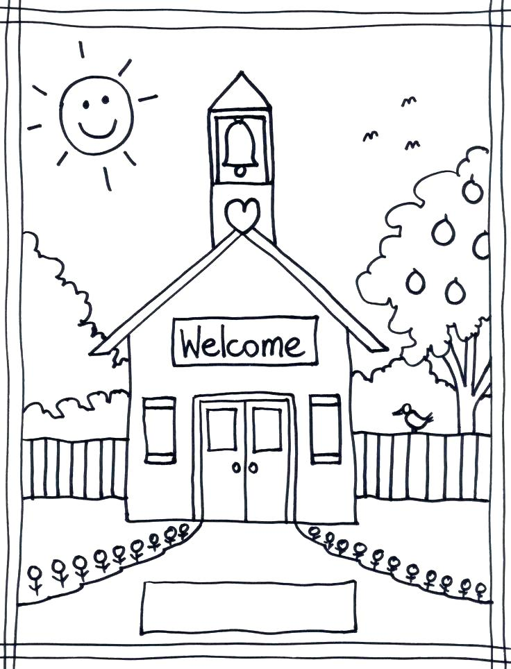 736x964 Elementary Coloring Pages Free