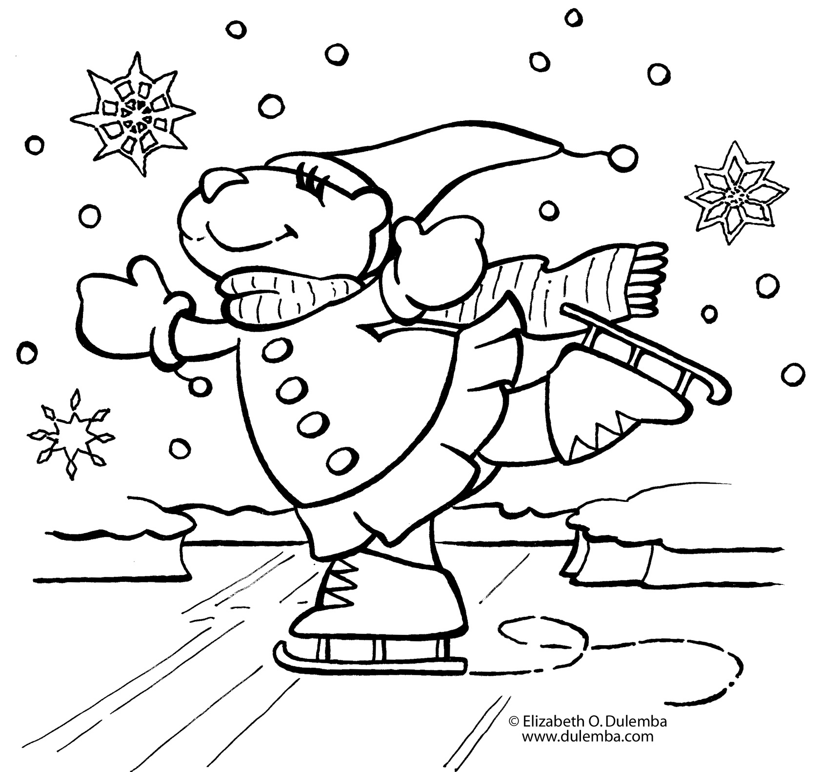 1685x1583 January Coloring Pages For Preschool