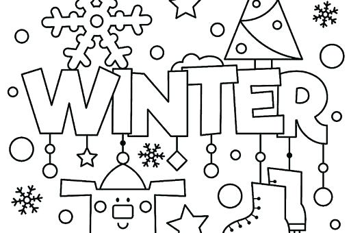 510x340 January Coloring Pages Free Printable Coloring Pages For Winter