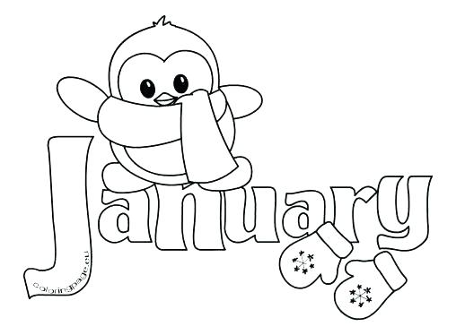 508x374 January Coloring Pages Kids Coloring Coloring Page Coloring Pages