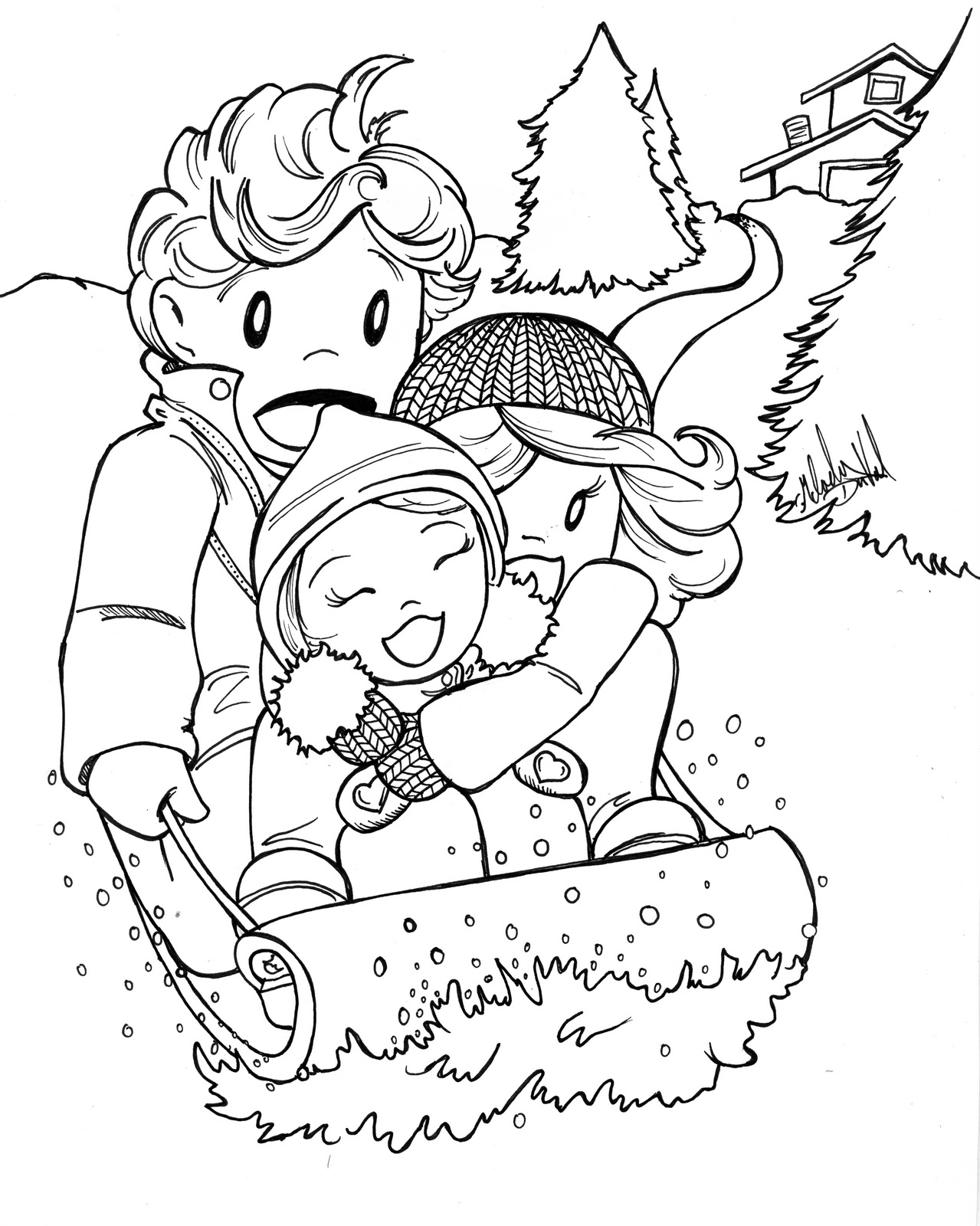 1279x1600 Perspective January Coloring Pages For Preschool Coloringsuite Com