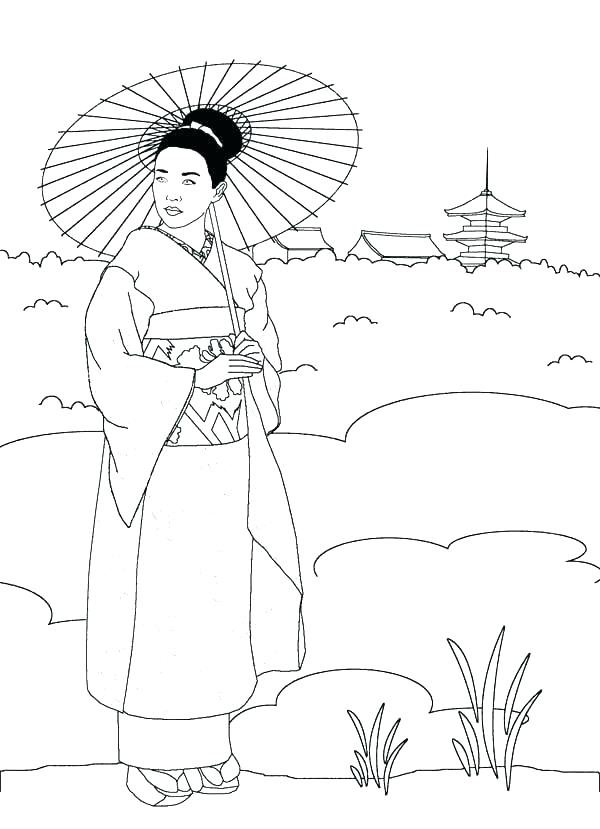 600x829 Japan Coloring Pages Japan Coloring Pages Inspirational Coloring