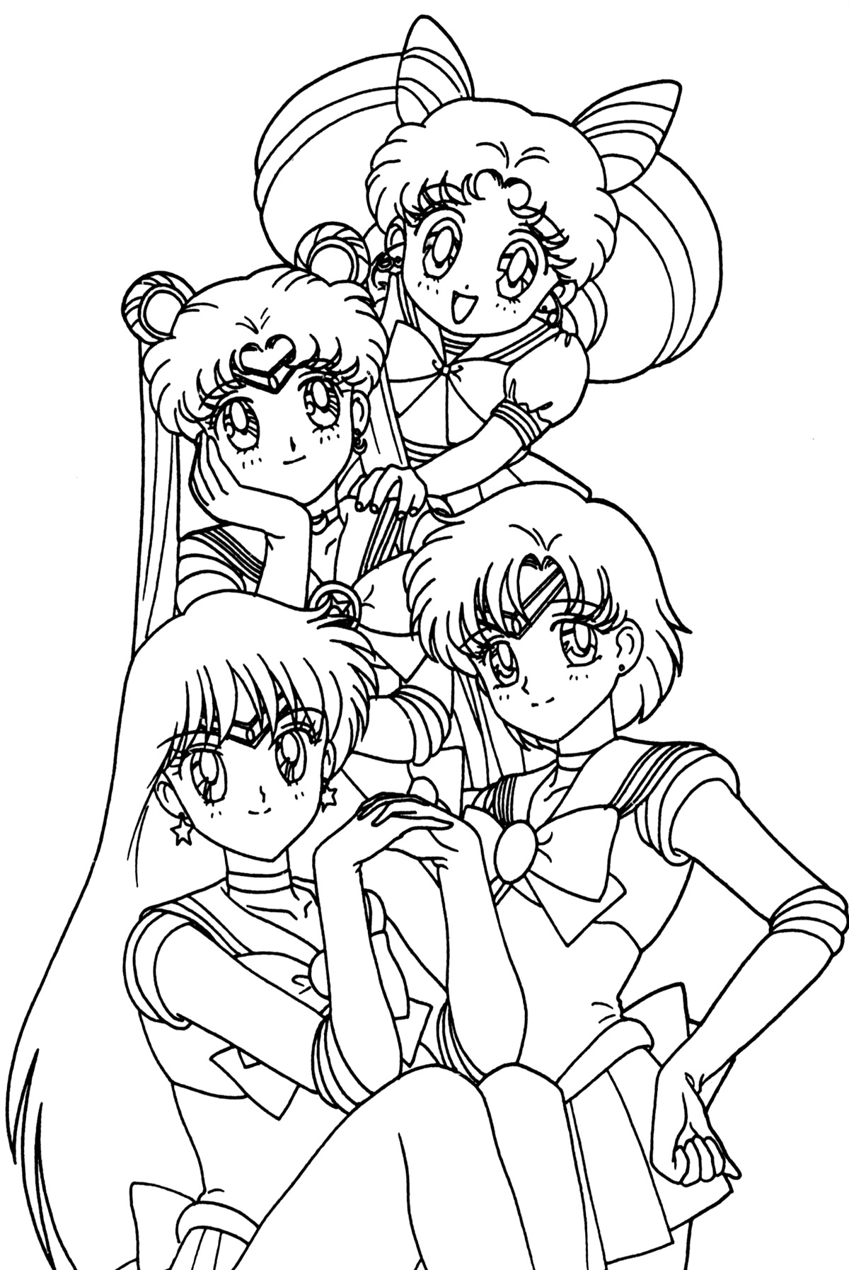 1200x1795 Anime Coloring Pages