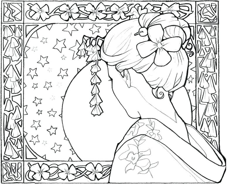 775x631 Japan Coloring Page Japan Coloring Pages Cherry Blossom In Japan
